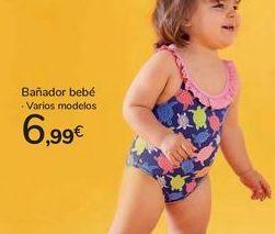 Oferta de Bañador bebé por 6,99€