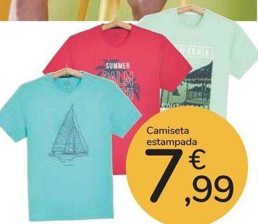 Oferta de Camiseta estampada  por 7,99€