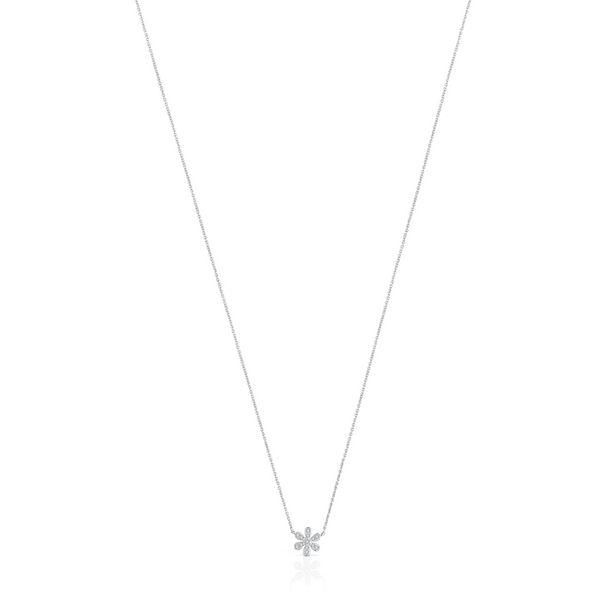 Oferta de Collar Blume de Oro blanco y Diamantes por 330€
