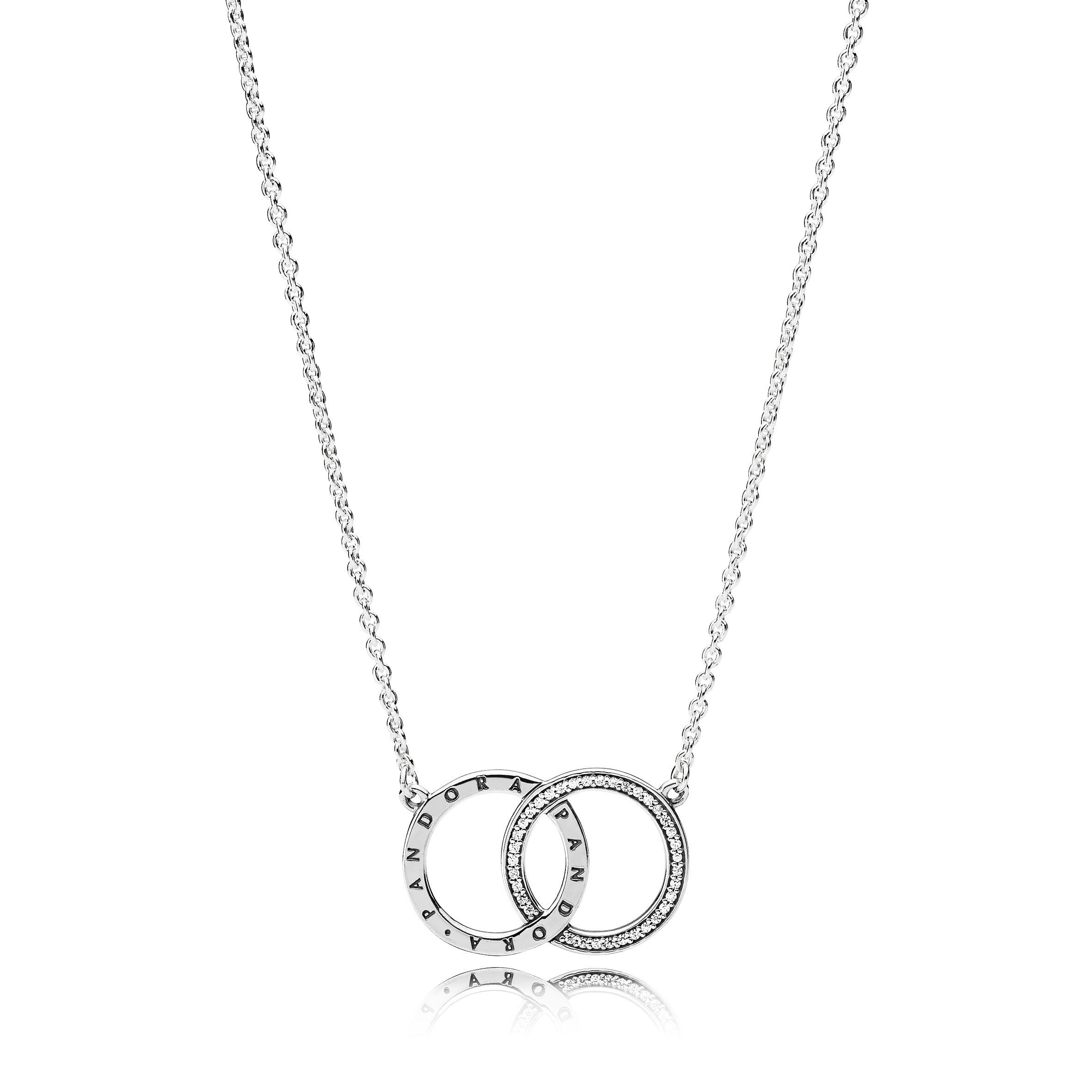 Oferta de Collar en plata de ley Círculos de PANDORA por 79€