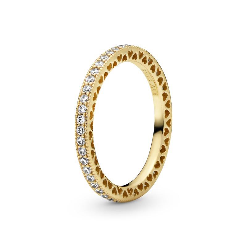 Oferta de Anillo en Pandora Shine Corazones de Pandora por 99€