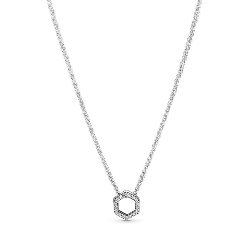 Oferta de Collar en plata de ley Panal Brillante por 69€