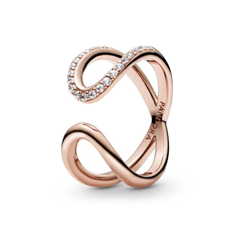 Oferta de Anillo en Pandora Rose Abertura Infinita por 79€
