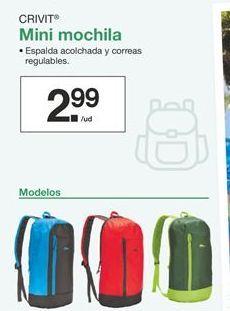 Oferta de Mini mochila Crivit  por 2,99€