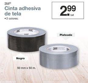 Oferta de Cinta adhesiva de tela 3m por 2,99€