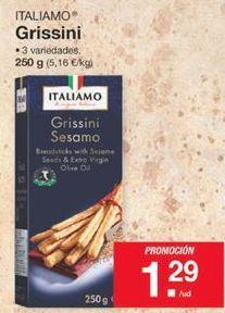 Oferta de Grissini Italiamo por 1,29€
