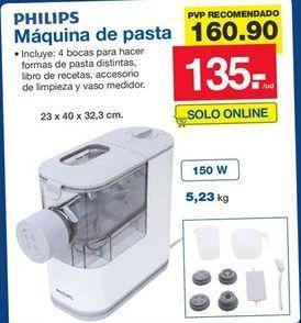Oferta de Máquina para pasta Philips por 135€