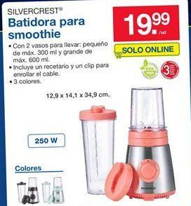 Oferta de Batidora para smoothie Silvercrest  por 19,99€