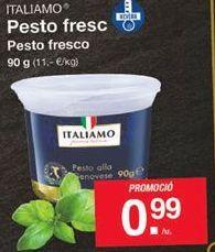 Oferta de Pesto fresco Italiamo por 0,99€