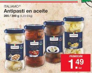 Oferta de Antipasti en aceite Italiamo por 1,49€