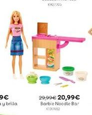 Oferta de Barbie Noodle Bar por 20,99€