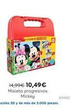 Oferta de Maleta progresivos Mickey por 10,49€