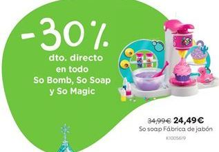 Oferta de So soap Fábrica de jabón por 24,49€