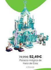 Oferta de Palacio mágico de hielo de Elsa por 52,49€