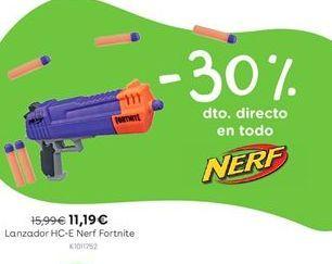 Oferta de Lanzador HC-E Nerf Fortnite por 11,19€