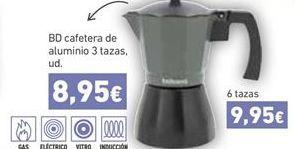 Oferta Cafetera de aluminio Hiperdino