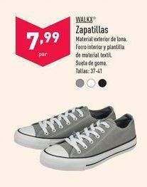 Oferta de Zapatillas Walkx por 7,99€
