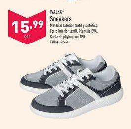 Oferta de Sneakers Walkx por 15,99€