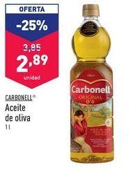 Oferta de Aceite de oliva Carbonell por 2,89€