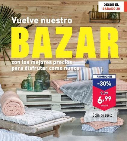 Oferta de Cojín de suelo por 6,99€