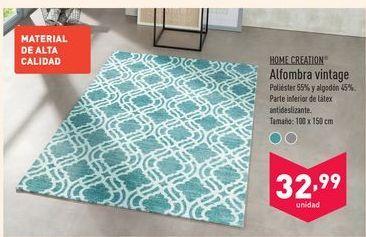 Oferta de Alfombra vintage Home Creation por 32,99€