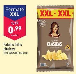 Oferta de Patatas fritas clásica por 0,99€