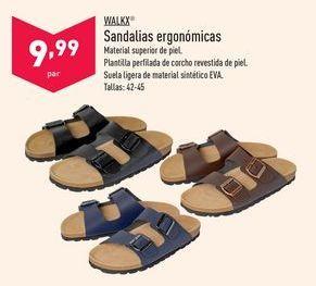 Oferta de Sandalias ergonómicas Walkx por 9,99€