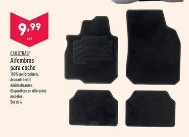 Oferta de Alfombras para coche Car Xtras por 9,99€