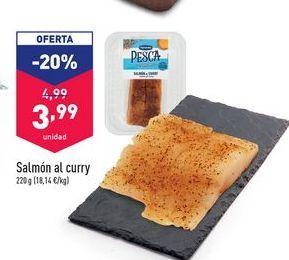 Oferta de Salmón Al Curry por 3,99€