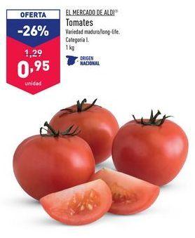 Oferta de Tomates EL MERCADO DE ALDI por 0,95€