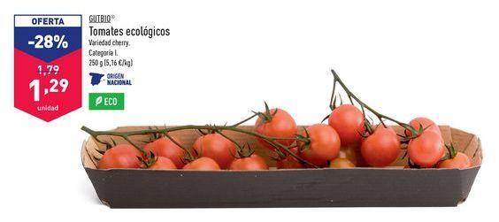 Oferta de Tomates Ecologicos Gutbio por 1,29€