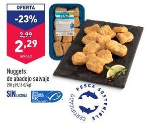 Oferta de Nuggets de abadejo salvaje por 2,29€