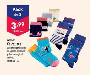 Oferta de Calcetines Walkx por 3,99€