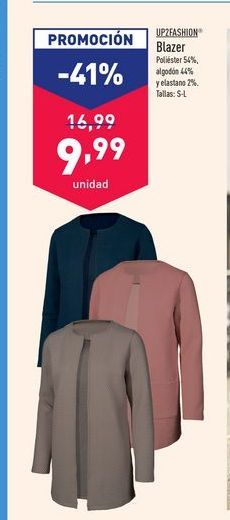 Oferta de Blazer Up2fashion por 9,99€