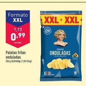 Oferta de Patatas fritas onduladas por 0,99€