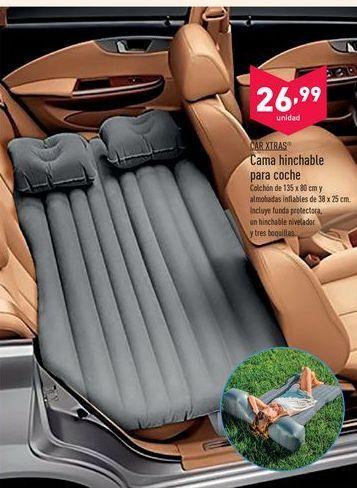 Oferta de Cama hinchable para coche Car Xtras por 26,99€
