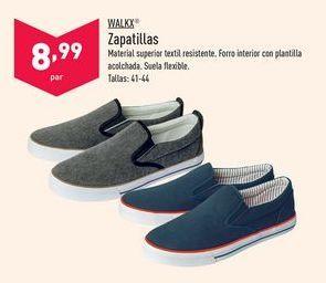 Oferta de Zapatillas Walkx por 8,99€