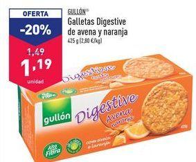 Oferta de Galletas Digestive de avena y naranja  por 1,19€