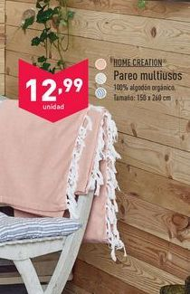 Oferta de Pareo multiusos Home Creation por 12,99€
