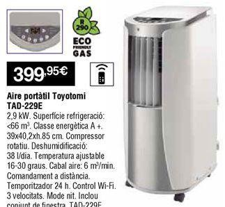 Oferta de Aire acondicionado portátil por 399,95€