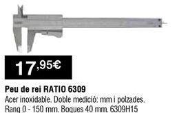 Oferta de Pie de rey por 17,95€