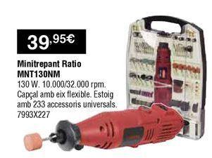 Oferta de Taladro a batería Ratio por 39,95€