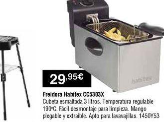 Oferta de Freidora Habitex por 29,95€