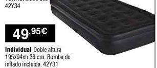 Oferta de Colchón hinchable por 49,95€