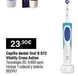 Oferta de Cepillo de dientes eléctrico Oral B por 23,9€