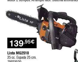 Oferta de Motosierra eléctrica por 139,95€