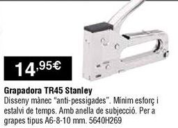 Oferta de Grapadora por 14,95€