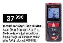 Oferta de Medidor láser por 37,95€