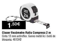 Oferta de Flexómetro Ratio por 1,5€