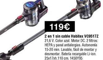 Oferta de Aspirador por 119€